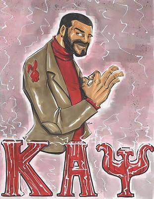Kappa Alpha Psi Fraternity Inc Print by Tu-Kwon Thomas