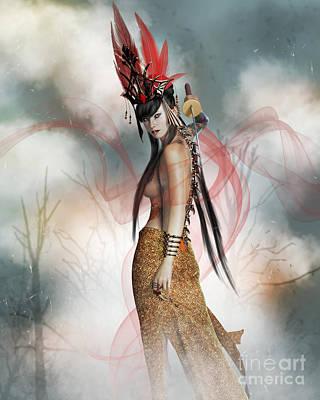 Digital Art - Katana  by Elle Arden Walby