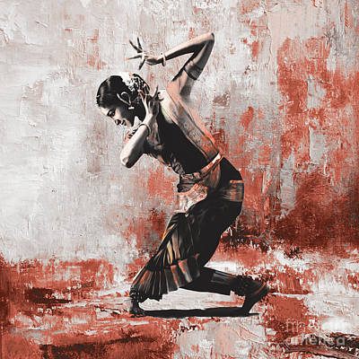 Kathak Dancer  Original by Gull G