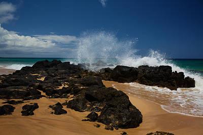 Photograph - Kauai Secret Beach by Steven Lapkin