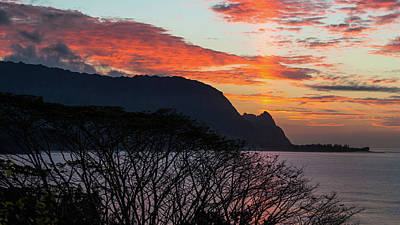 Photograph - Kauai Sunset by Lace Andersen