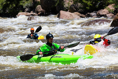 Steven Krull Royalty-Free and Rights-Managed Images - Kayaking the Numbers by Steven Krull