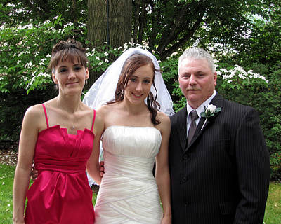 Photograph - Kayla Jeff Wedding Sample 7 by George Jones