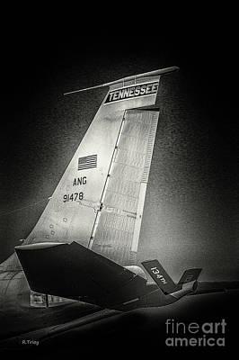 Kc_135 In Flight Refueling Tanker Art Print