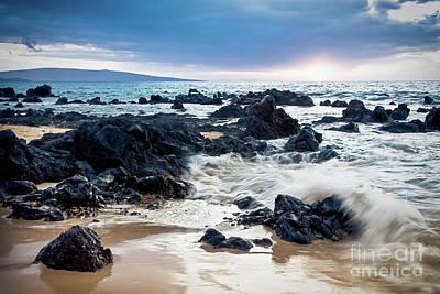 Photograph - Keawakapu Kahaulani Dew Of Heaven Maui Hawaii by Sharon Mau