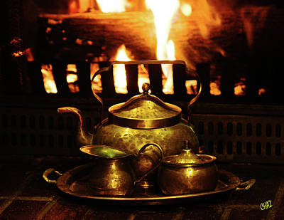 Photograph - Keeping The Tea Warm by CHAZ Daugherty