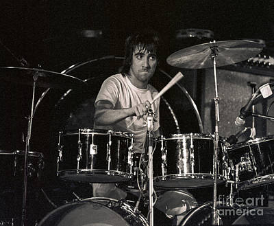 Keith Moon Photograph - Keith Moon by Ara Ashjian