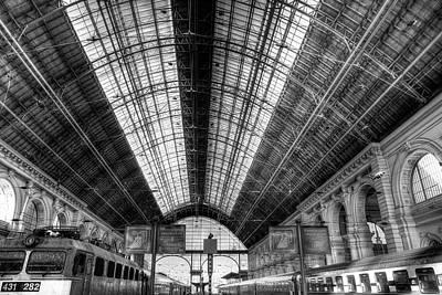 Photograph - Keleti Railway Station Budapest by David Pyatt