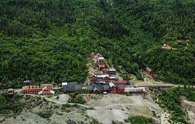 Photograph - Kennicott Mine by Fred Denner