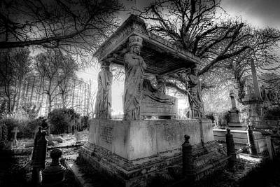 Photograph - Kensal Green Cemetery London by David Pyatt