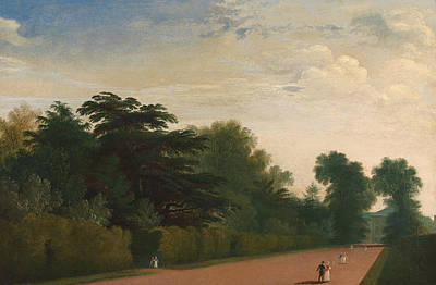 Kensington Painting - Kensington Gardens by John Martin