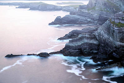 Portmagee Wall Art - Photograph - Kerry Cliffs - Ireland by Joana Kruse