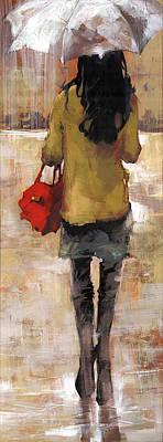 Rainy Painting - Kerry by Matthew Myles