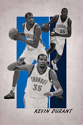 Photograph - Kevin Durant Oklahoma City Thunder by Joe Hamilton