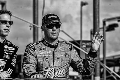 Kevin Harvick Print by Kevin Cable