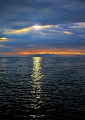 Photograph - Key West Sunset by Ron Grafe