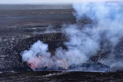 Photograph - Kilauea Halema'uma'u Crater by Jim Thompson