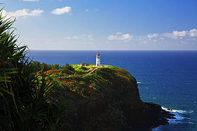 Photograph - Kilauea Lighthouse by Steven Lapkin