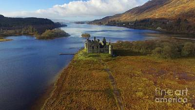 Photograph - Kilchurn Castle by David Grant
