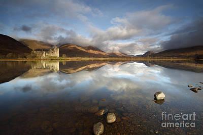 Scotland Photograph - Kilchurn Castle by Maria Gaellman