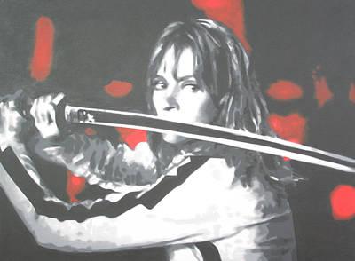 Kill Bill Painting - Kill Bill by Luis Ludzska