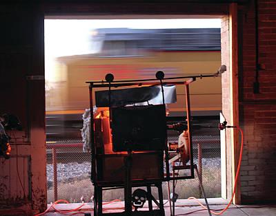 Photograph - Kiln Locomotion by Alycia Christine