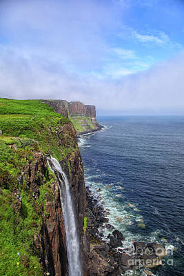 Photograph - Kilt Rock Waterfall by Patricia Hofmeester