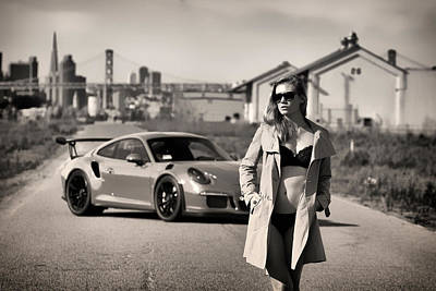 Photograph - #kim And #porsche #gt3rs by ItzKirb Photography