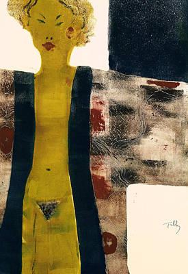 Painting - Kimono by Thomas Tribby