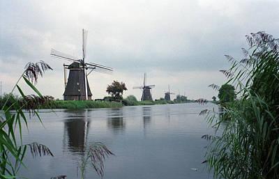 Photograph - Kinderdijk by Cornelis Verwaal