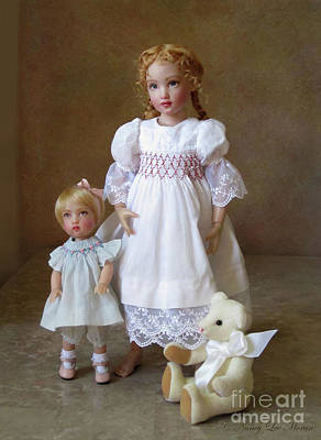 Photograph - Kindhearted Kish Dolls by Nancy Lee Moran