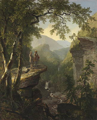 Kindred Spirits  Print by Asher Brown Durand