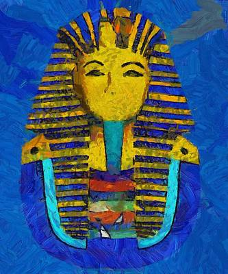 Medieval Painting - King Tut by Pierre Blanchard