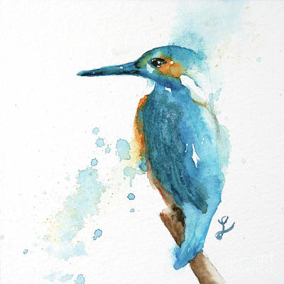 Painting - Kingfisher Square by Lynne Furrer