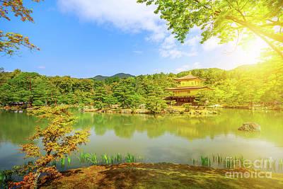 Photograph - Kinkakuji Golden Pavilion by Benny Marty