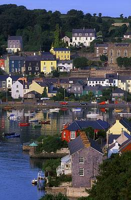 Kinsale, Co Cork, Ireland Boats And Art Print by The Irish Image Collection