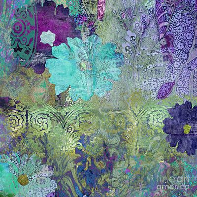 Tapestries Textiles Painting - Kismet by Mindy Sommers