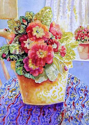 Painting - Kitchen Primrose II by Ann Nicholson