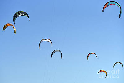 Photograph - Kites In The Sky by George Atsametakis