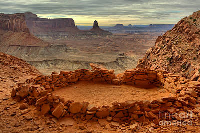 Kiva With A View Art Print by Adam Jewell