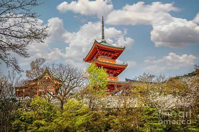 Photograph - Kiyomizudera Pagoda by Karen Jorstad