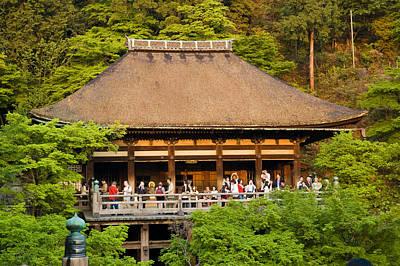 Japanese Photograph - Kiyomizudera Temple by Sebastian Musial