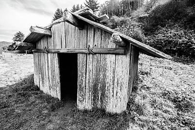 Photograph - Klamath Plank House by Scott Pellegrin