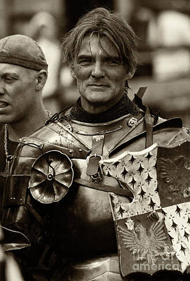 Renaissance Fairs Photograph - Knights Of Old 10 by Bob Christopher