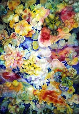 Painting - Koi Garden by Ann Nicholson
