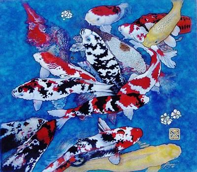 Koi Art Print by Shereanne Sorger