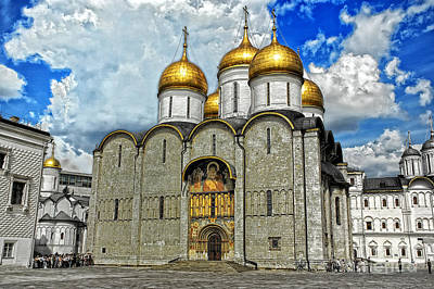 Photograph - Kremlin Church by Rick Bragan