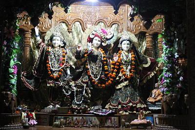 Puja Photograph - Krishna And Radha, Vrindavan by Jennifer Mazzucco