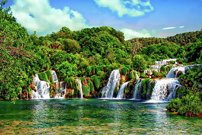 Photograph - Krka National Park by Anthony Dezenzio