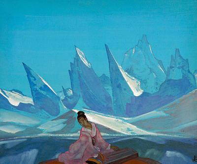 Russian Painting - Kuan-yin by Nicholas Roerich